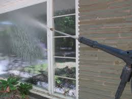 how to clean windows with a pressure washer