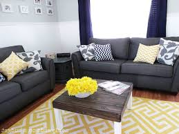 Yellow And Gray Living Room Decor Home Design Decorating Yellow Wall Bedroom Images About Feature