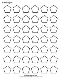 Pentagon Template. Free printable for English Paper Piecing.   Top ... & Pentagon Template. Free printable for English Paper Piecing. Adamdwight.com