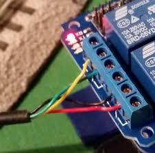 lionel train switch control a raspberry pi wiring the switch to the relay lionel train switch control a raspberry pi