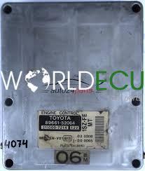 ECU ENGINE CONTROLLER TOYOTA YARIS 1.0 1SZ-FE 8966152064, 89661 ...