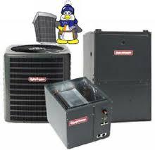goodman 1 5 ton split system. goodman 5 ton 13 seer 96% 100k btu gas furnace system(upflow,vertical or horizontal)). image 1 split system