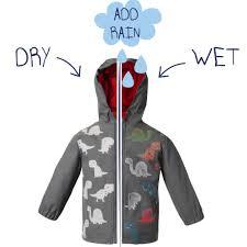 Hatley Raincoat Size Chart Dino Colour Changing Raincoat