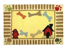 dog bone rug dog place mat dog bone shaped braided rug