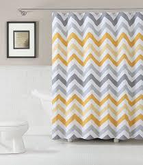 com goodgram chevron cotton fabric shower curtain assorted colors plum home kitchen