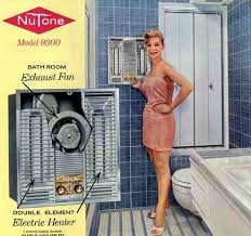 1960 nutone bathroom vintage wall heaters often combined with exhaust fans