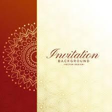 Free Invitation Background Designs Premium Invitation Luxury Background Design Download Free Vector