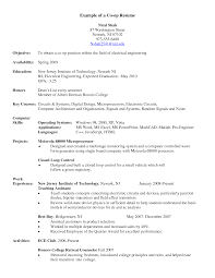 ... Co Op Student Gallery: Download Instrumentation Engineer Sample Resume