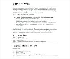 Sample Company Memorandum Free Memo Format Template Download Internal Memorandum
