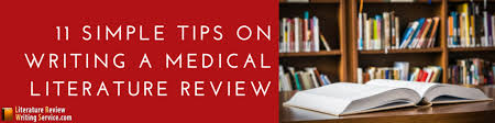 Guide On How To Write A Literature Review Medicine