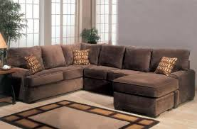 Chocolate Brown Sectional Sofa With Chaise Elegant Design