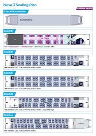 Train Seating Plans Download Plans First Transpennine