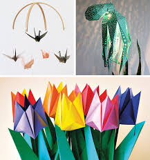 Paper Flower Folding Easy 3d Paper Flowers For Spring Easy Diy Paper Folding