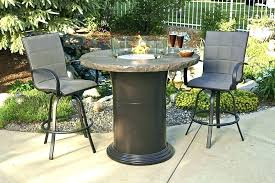 patio dining table with fire pit patio dining table with fire pit medium size of propane