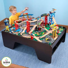 kidkraft train table train table train table kidkraft waterfall mountain train set and table kidkraft train table