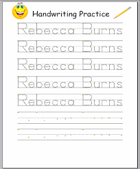 Free Printable Handwriting Worksheet Generator Worksheets for all ...