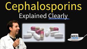 Cephalosporin Antibiotics Clear Chart With Each Generation