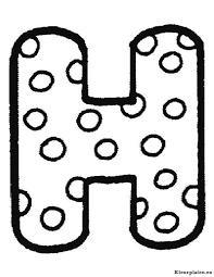 Polka Dot Letter Coloring Pages Best Of Alfabet Kleurplaten Exadme