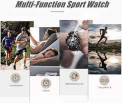 <b>SKMEI Men's</b> Digital Sports Watch, Military Waterproof Watches <b>LED</b>