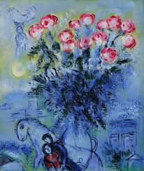 image detail for roses by marc chagall for jacky gallery oil paintings