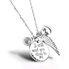 i still need you close to me cremation jewelry urn necklace pet memorial ash holder necklace