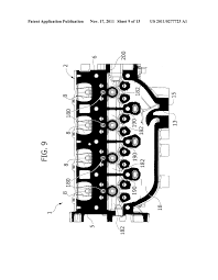 cylinder head for an internal combustion engine integrated cylinder head for an internal combustion engine integrated exhaust manifold diagram schematic and image 10
