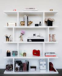 my shelf in my beauty room tour