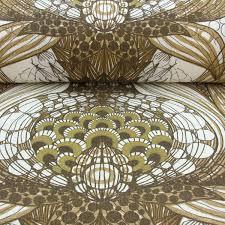 linen print fabric shoki