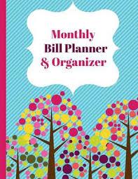 Monthly Bill Planner Organizer Financial Planner