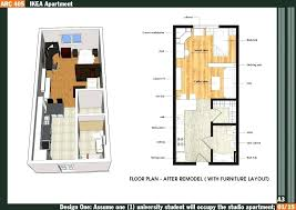 500 square foot house plans. 500 Sq Ft House Plans 1 Bedroom Guest Square Feet Fresh Plan Foot A