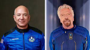 Jeff Bezos and Richard Branson went to ...