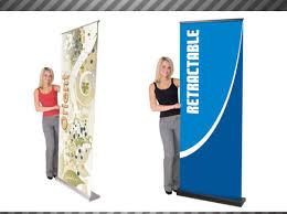 Retractable Display Stands Orient 100 Standard Retractable Banner Stand 66
