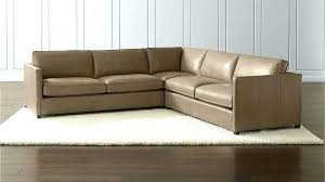 lee industries crate and barrel leather sofa bed furniture reviews