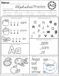 Phonics teaches a student to read by using the sounds of the letters in a word. These Alphabet Printables Are Perfect For Assessments As Well As Rein Kindergarten Alphabet Practice Letter Recognition Worksheets Letter Recognition Preschool