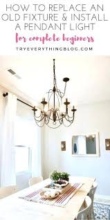 install pendant light how to install a pendant light and swag it at industrial chandelier swag light bronze lighting hard wiring instructions install