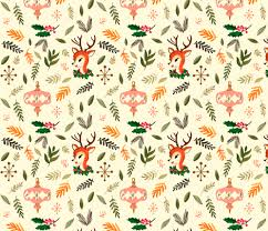 vintage christmas wallpaper. Brilliant Vintage Vintage Christmas Fabric By Ginamayes On Spoonflower  Custom To Wallpaper