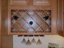 Wine Racks For Kitchen Cabinets How To Build A Wine Rack In A Kitchen Cabinet Images As Your