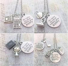 Do What Makes You Happy Necklace Math Science History