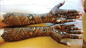 Full Hand Bridal Mehndi Designs Indian Wedding Indian Bridal Henna Designs Berbagi Ilmu Belajar Bersama