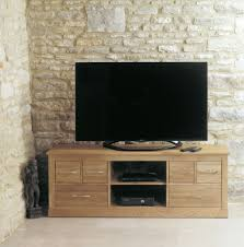 baumhaus mobel solid oak hidden home office. Buy Baumhaus Mobel Oak Widescreen Television Cabinet Online Cfs Uk. CHOICEFURNITURESUPERSTORE Solid Hidden Home Office F