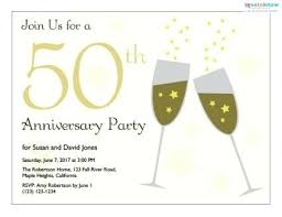 50th wedding invitations with wedding anniversary invitations templates template for anniversary invitation amazing for make inspiring