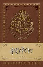 harry potter hogwarts ruled notebook 9781683832850 hr