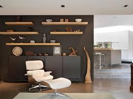 modern floating shelves bedroom