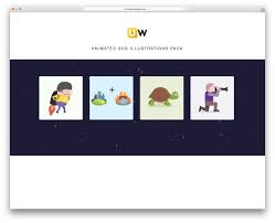 Rainbow rocket man by chris gannon. Top 24 Examples Of Svg Animations For Web Designers And Developers 2020 Colorlib