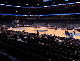 Fedex Forum Memphis Grizzlies Seating Chart Fedexforum Section 115 Seat Views Seatgeek