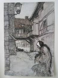 Details About Vintage Printfrom Old Sultanarthur Rackham1907grimms Fairy Tales