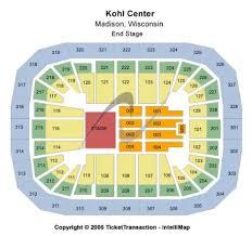 Kohl Center Tickets And Kohl Center Seating Chart Buy Kohl