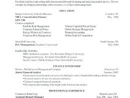 Mba Resume Examples Interesting Design Resume Sample Resume Template ...