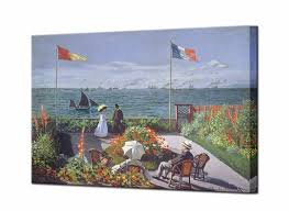 claude monet canvas wall art prints