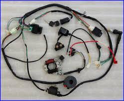all electrics atv quad 50 70cc 110cc 125cc coil cdi harness chinese atv wiring harness diagram at 110cc Atv Wiring Harness